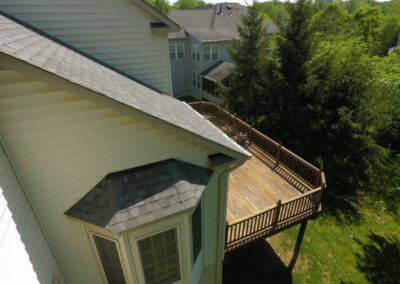 American Choice Exterior - Rockville, MD - Bay Full Roof Replacement