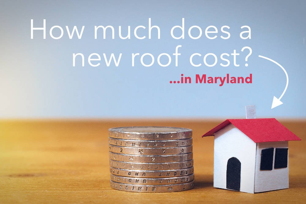 How much does a new roof cost in Maryland?